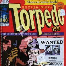 Revistas: ANTIGÜO COMIC TORPEDO 1936 - Nº 1. Lote 295718648