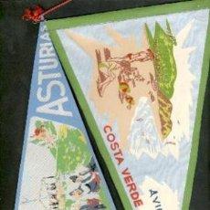 Banderines de colección: BANDERINES DE AVILÉS. ASTURIAS.. Lote 27094910