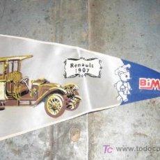 Banderines de colección: BANDERÍN BIMBO, RENAULT 1907. Lote 4338203