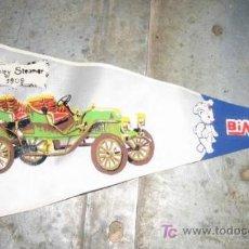 Banderines de colección: BANDERÍN BIMBO,STANLEY STEAMER 1909. Lote 6410949
