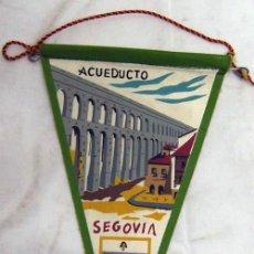Banderines de colección: BANDERÍN ACUEDUCTO DE SEGOVIA. Lote 5422777
