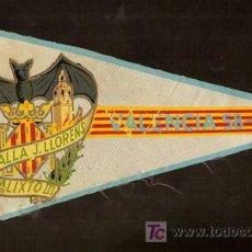 Banderines de colección: VALENCIA 1958 - 59,FALLA J. LLORENS,CALIXTO I I I,BANDERIN PUBLICIDAD,AÑO 1958, -. Lote 21761425