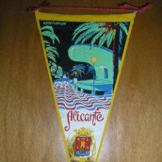 Banderines de colección: 8 ANTIGUOS BANDERINES DE ALICANTE (ALICANTE,ALCOY,...). Lote 26789661