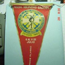 Banderines de colección: 6215 BANDERIN OVIEDO ASTURIAS AÑO 1960 - MAS DE ESTE TIPO EN MI TIENDA TC. Lote 9854289