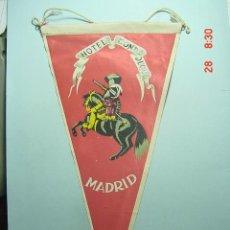 Banderines de colección: 6216 BANDERIN MADRID HOTEL CONDE DUQUE AÑOS 1950/60 - MAS DE ESTE TIPO EN MI TIENDA TC. Lote 9648425