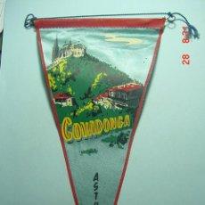 Banderines de colección: 6217 BANDERIN COVADONGA ASTURIAS AÑOS 1950/60 - MAS DE ESTE TIPO EN MI TIENDA TC. Lote 7973425