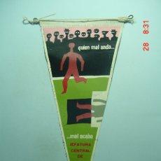 Banderines de colección: 6219 BANDERIN JEFATURA TRAFICO AÑOS 1950/60 - MAS DE ESTE TIPO EN MI TIENDA TC. Lote 7973672