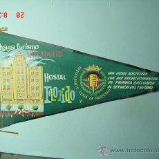 Banderines de colección: 6221 BANDERIN VALLADOLID HOSTAL FLORIDO AÑOS 1950/60 - MAS DE ESTE TIPO EN MI TIENDA TC. Lote 9843591