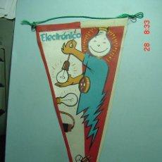 Banderines de colección: 6229 BANDERIN ELECTRONICO AÑOS 1950/60 - MAS DE ESTE TIPO EN MI TIENDA TC. Lote 9880505