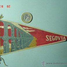 Banderines de colección: 6233 BANDERIN SEGOVIA AÑOS 1950/60 - MAS DE ESTE TIPO EN MI TIENDA TC. Lote 7977703