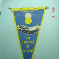 Banderines de colección: 6238 BANDERIN CARITAS AÑOS 1950/60 - MAS DE ESTE TIPO EN MI TIENDA TC. Lote 10111686