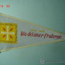Banderines de colección: 6239 BANDERIN CARITAS AÑOS 1950/60 - MAS DE ESTE TIPO EN MI TIENDA TC. Lote 9867233
