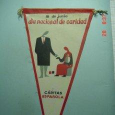 Banderines de colección: 6248 BANDERIN CARITAS AÑOS 1950/60 - MAS DE ESTE TIPO EN MI TIENDA TC. Lote 9937095