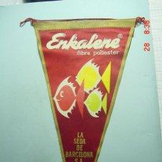 Banderines de colección: 6253 BANDERIN ENKALENE BARCELONA AÑOS 1950/60 - MAS DE ESTE TIPO EN MI TIENDA TC. Lote 10531585