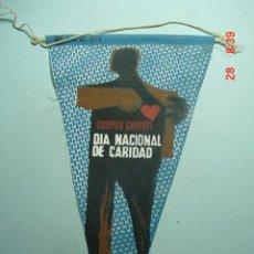 Banderines de colección: 6254 BANDERIN CARITAS AÑOS 1950/60 - MAS DE ESTE TIPO EN MI TIENDA TC. Lote 10313127