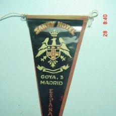 Banderines de colección: 6259 BANDERIN MADRID HOTEL SANVY AÑOS 1950/60 - MAS DE ESTE TIPO EN MI TIENDA TC. Lote 9937092