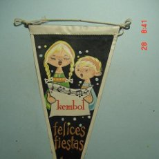 Banderines de colección: 6265 BANDERIN KEMBOL AÑOS 1954/60 - MAS DE ESTE TIPO EN MI TIENDA TC. Lote 9880504