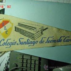 Banderines de colección: 6266 BANDERIN VENEZUELA CARACAS AÑOS 1954/60 - MAS DE ESTE TIPO EN MI TIENDA TC. Lote 10531587