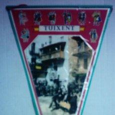 Banderines de colección: BANDERIN DE TUIXENT 29 CM.. Lote 27344211