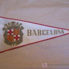 Banderines de colección: BANDERIN BARCELONA. 37 X 18 CM.. Lote 8839132