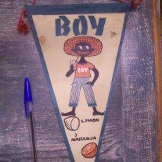 Banderines de colección: BOY LIMON Y NARANJA. Lote 26561960