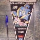 Banderines de colección: DIA DE AMERICA EN ASTURIAS SOF 1960. Lote 19787194