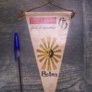 Banderines de colección: BOTAS TEXTIRAMA 63 FERIA DE NOVEDADES, PLASTICO. Lote 13017010