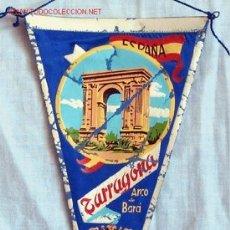 Banderines de colección: BANDERIN TARRAGONA ARCÓ BARÁ AÑOS 60. Lote 1705331