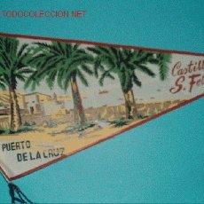 Banderines de colección: BANDERIN CASTILLO DE SAN FELIPE. Lote 3016689