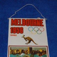 Banderines de colección: BANDERIN MELBOURNE 1956 - BIMBO. Lote 24101886