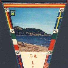 Banderines de colección: BANDERIN DE LA LINEA DE LA CONCEPCION (CADIZ). Lote 9954495
