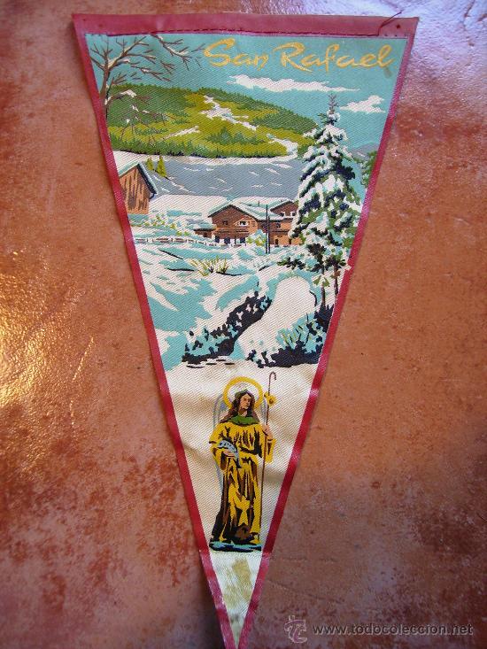 SAN RAFAEL 1960 (Coleccionismo - Banderines)