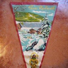 Banderines de colección: SAN RAFAEL 1960. Lote 26189544