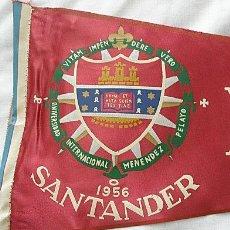 Banderines de colección: BANDERIN ANTIGUO 1956 PERIODISMO SANTANDER. Lote 11696411