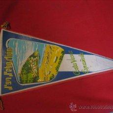 Banderines de colección: BANDERIN , DE SAN SEBASTIAN - COSTA VASCA ESPAÑOLA AÑOS 60. Lote 16128111