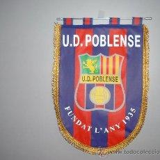 Banderines de colección: BANDERÍN CONMEMORATIVO U.D.POBLENSE. Lote 23699492