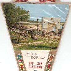 Banderines de colección: BANDERIN - COSTA DORADA , ROC SAN CAYETANO. Lote 22589711