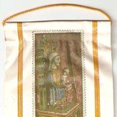 Banderines de colección: BANDERIN , STA. ANNA DE CLARET - SANTPEDOR , MEDIDAS 22 X9,5 CM.. Lote 22475860
