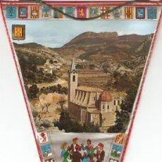 Banderines de colección: BANDERIN - SANTUARI DE LURDES LA NOU ALT.900 MTS.. Lote 22589731