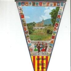 Banderines de colección: BANDERIN - SANTUARI DE LURDES LA NOU ALT. 900 MTS. . Lote 22439243