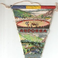 Banderines de colección: BANDERIN - ANDORRA . Lote 22589804