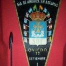Banderines de colección: DIA DE AMERICA EN ASTURIAS SOF 1961. Lote 26140552