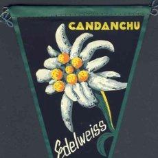 Banderines de colección: BANDERIN DE CANFRANC: CANDANCHU. Lote 191632440