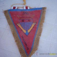 Banderines de colección: BANDERÍN COLEGIO NACIONAL S.L. VALLADOLID (30 CMS). Lote 22180502