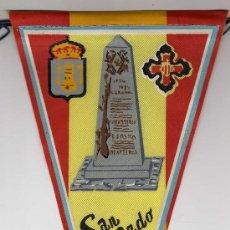 Banderines de colección: BANDERIN DE TELA DE SAN FERNANDO Nº 11. Lote 26877089
