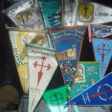 Banderines de colección: LOTE DE BANDERINES AÑOS 60. Lote 26625129