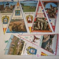 Banderines de colección: LOTE 7 BANDERINES AÑOS 60. Lote 26810148