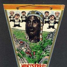 Banderines de colección: BANDERIN DE MONTSERRAT. Lote 18406027