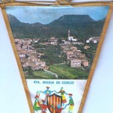Banderines de colección: BANDERIN STA. MARIA DEL CORCO. Lote 23498258