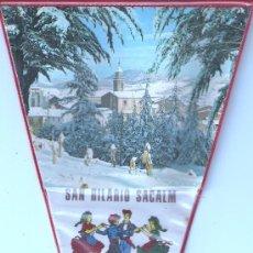 Banderines de colección: BANDERIN - SANT HILARIO SACALM. Lote 25029497